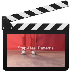 "Tap-Training ""step-heel patterns"""